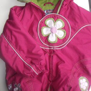 GUSTI Pink Hooded Winter Jacket Girl 3X